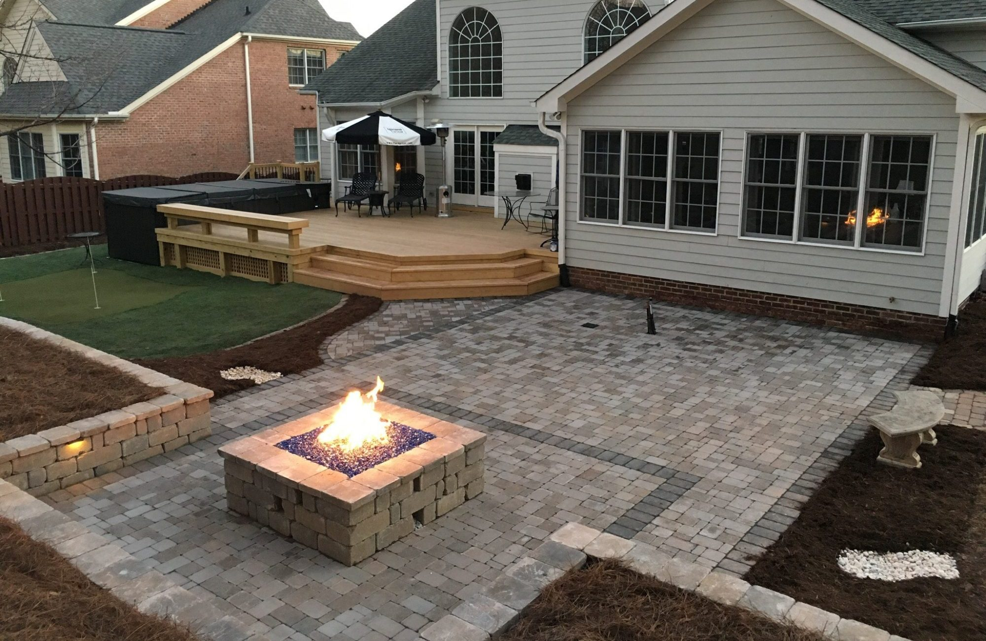 cary landscaping services design u0026 build your dream outdoor